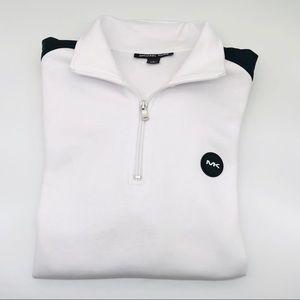 Michael Kors Men's White Pull-Over Sweater